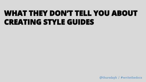What they don't tell you about creating style guides
